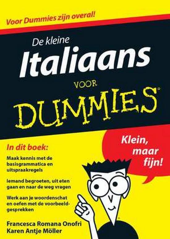 Afbeelding van De kleine Italiaans voor Dummies