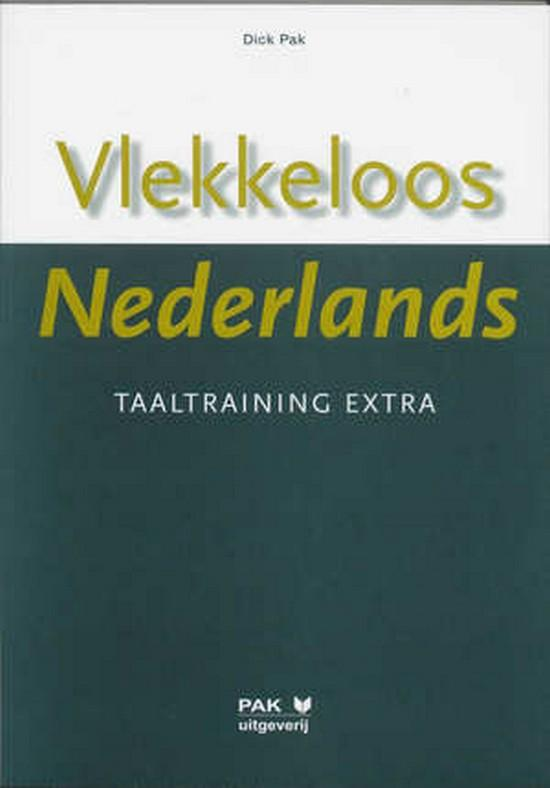 Afbeelding van Vlekkeloos Nederlands - Taaltraining extra