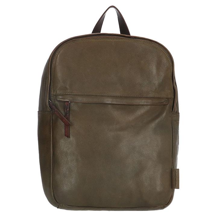 Prachtige rugzak uit de Highland Park serie van Micmacbags. De artikelen uit de Highland serie hebben een gave vintage uitstraling en zijn gemaakt van prachtig echt leer, het leer is soepel en heeft een pure authentieke uitstraling. De schouderbanden op de achterzijde zijn verstelbaar, hierdoor kan je de rugzak altijd op de gewenste lengte dragen. Op de bovenzijde heeft de rugzak een handvat om de tas gemakkelijk in de hand mee te nemen.