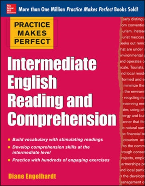 Afbeelding van Practice Makes Perfect Intermediate English Reading and Comprehension