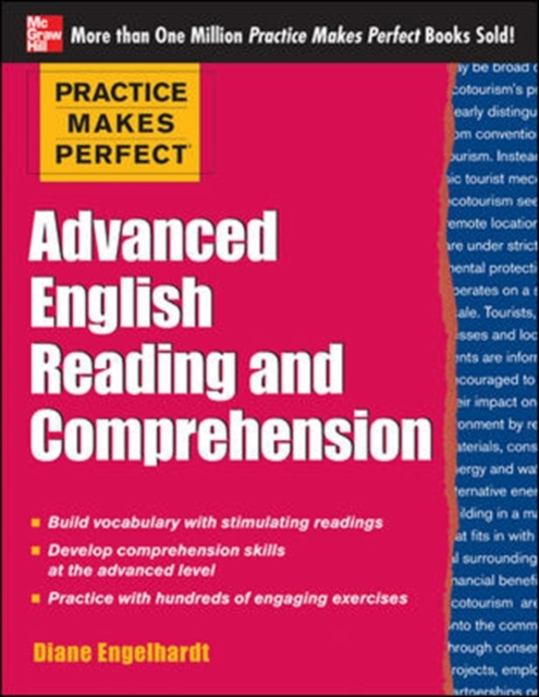 Afbeelding van Practice Makes Perfect Advanced ESL Reading and Comprehension