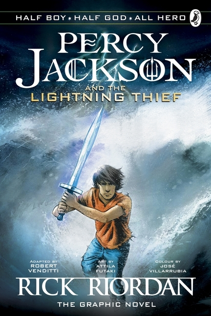 Afbeelding van Percy Jackson and the Lightning Thief: The Graphic Novel