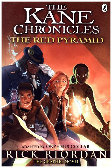 Afbeelding van The Red Pyramid: The Graphic Novel : The Kane Chronicles 1