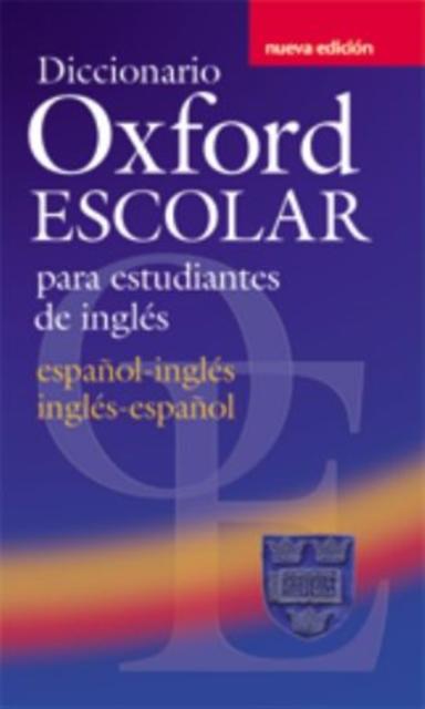 Afbeelding van Diccionario Oxford Escolar para estudiantes de inglés     (Central American Edition)