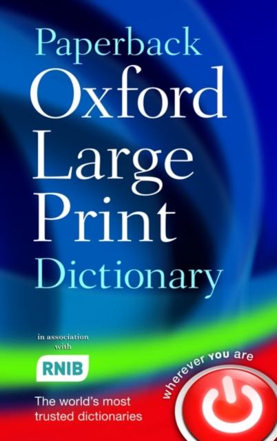 Afbeelding van Oxford Large Print Dictionary