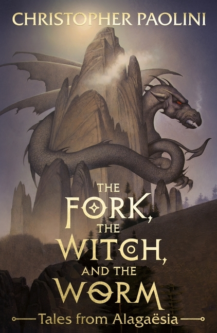 Afbeelding van The Fork, the Witch, and the Worm : Tales from Alagaesia volume 1: Eragon
