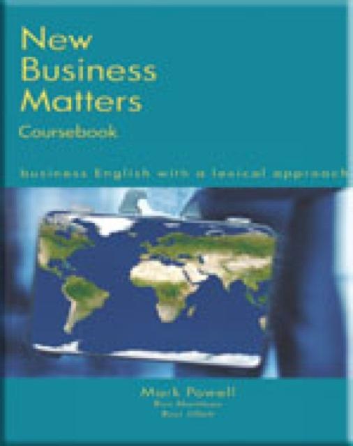 Afbeelding van New Business Matters