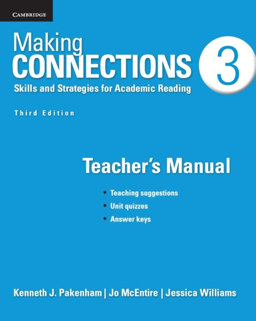 Afbeelding van Making Connections: Skills and Strategies for Academic Reading
