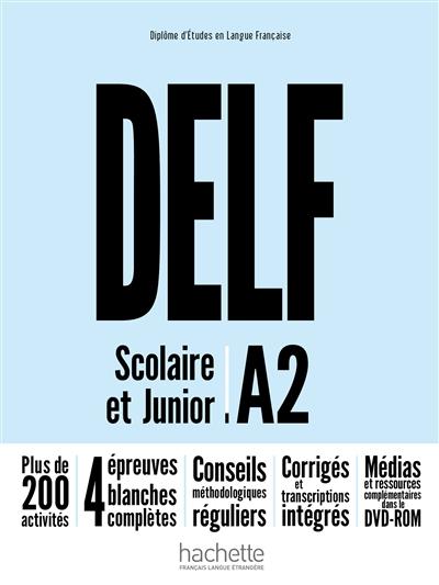 Afbeelding van DELF Scolaire et Junior A2 Nouvelle Edition + DVD