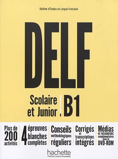 Afbeelding van DELF B1 Scolaire et Junior Nouvelle Edition + DVD