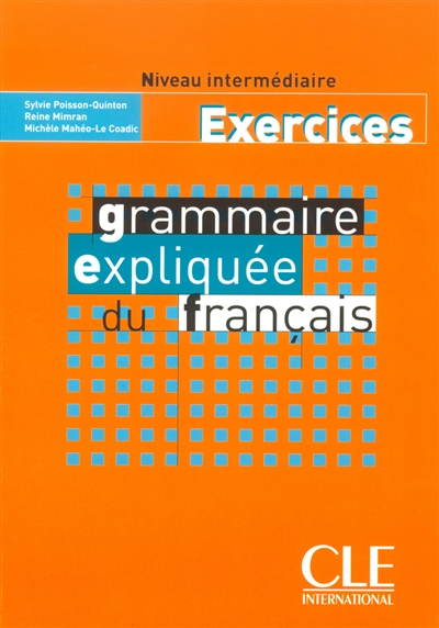 Afbeelding van Grammaire expliquée du français - Intermédiaire
