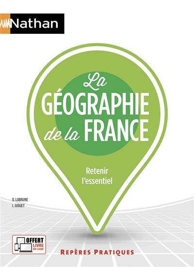 Afbeelding van La géographie de la France