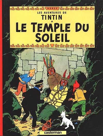 Afbeelding van Tintin et le temple du soleil