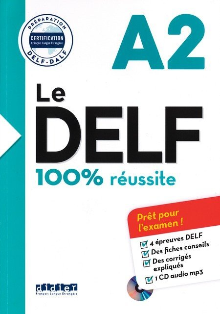 Afbeelding van Le DELF A2 - 100% réussite