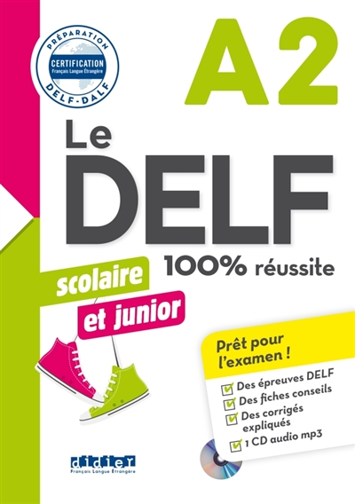 Afbeelding van Delf scolaire et junior 100% réussite niveau A2