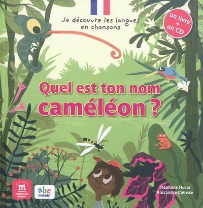 Afbeelding van Quel est ton nom, Caméléon?