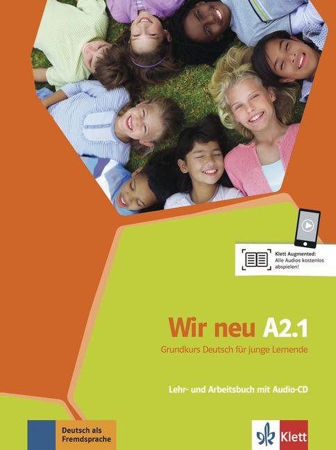 Afbeelding van Wir Neu A2.1 - Grundkurs Deutsch für junge Lernende