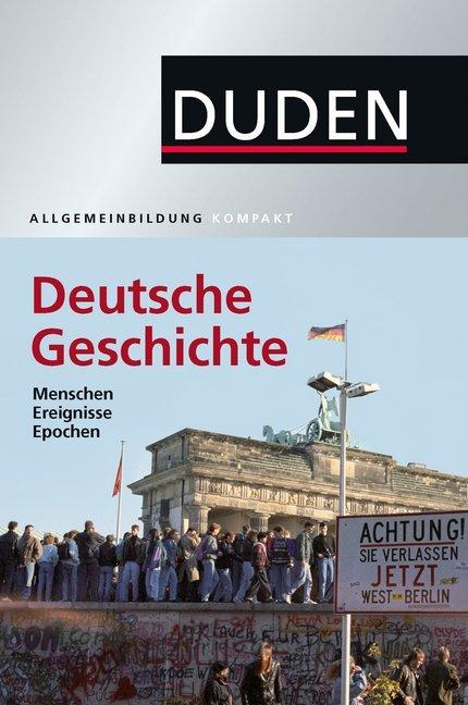 Afbeelding van Duden Allgemeinbildung Deutsche Geschichte