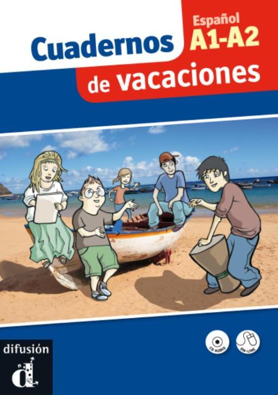 Afbeelding van Cuadernos de vacaciones A1-A2