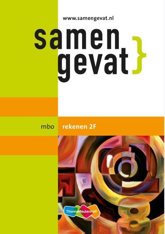 Afbeelding van Samengevat mbo Rekenen 2F 2e druk
