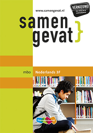 Afbeelding van Samengevat mbo Nederlands 3F 2e druk